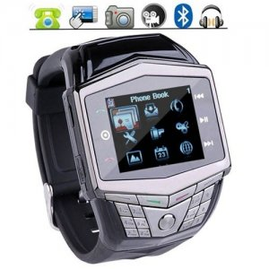 1.55 Inch Quad-Bands Super Slim TFT Touch Screen Watch Phone